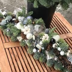 Рождественская композиция на стол/ Freeze