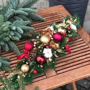 Рождественская композиция на стол/ Joy