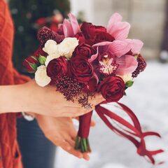 Рубиновый букет невесты / Ruby