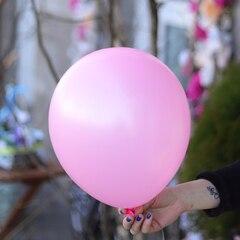 Шар гелиевый розовый
