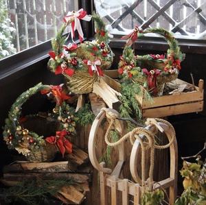 Рождественские корзины в роскошном оформлении/ Royal