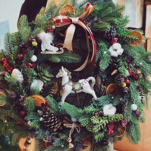Рождественский венок/  Winter's Tale