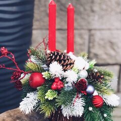 Рождественская композиция/ Red Carpet