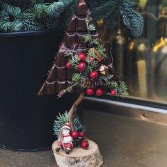 Шоколадная мини-елочка/ Red berries