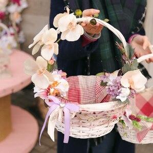 Пасхальная корзина с украшениями M/ Refreshing orchid