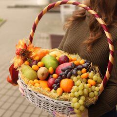 Корзина с экзотическими фруктами фруктами, 6.5 кг