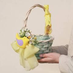 Пасхальная корзинка S/ Yellow bird