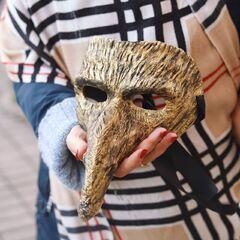 """Карнавальная маска """"Чумной доктор"""""""
