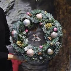 Новогодний венок с лошадкой/ Let the Christmas last forever