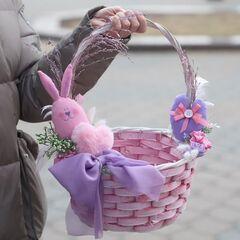 Пасхальная корзинка XL/ Еaster bunny