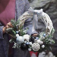 Рождественский венок/ White Christmas